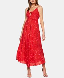 Jackson Fleck-Print Maxi Dress