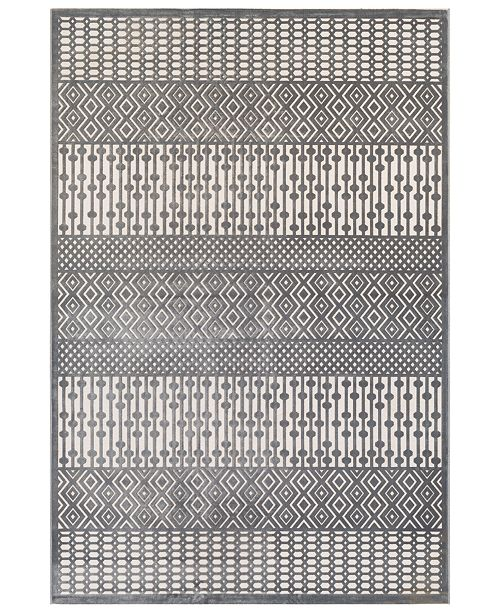 Surya Aesop ASP-2304 Medium Gray 2' x 3' Area Rug