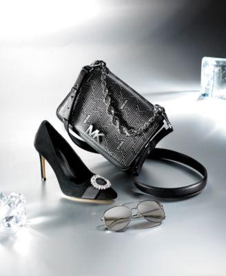 29fe68bd8cd5 Mott Metallic Deco Chain Swing Shoulder Bag