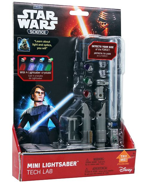 Uncle Milton Star Wars Science - Mini Lightsaber Tech Lab
