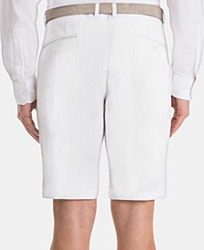 Men's Classic-Fit Linen Shorts