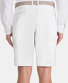 Men's Classic-Fit Linen Shorts