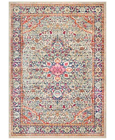 "Bohemian BOM-2308 Bright Pink 3'11"" x 5'7"" Area Rug"
