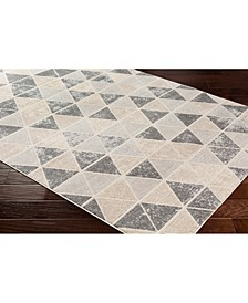 """City CIT-2330 Taupe 18"""" Area Rug Swatch"""