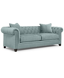 "Martha Stewart Collection Saybridge 92"" Fabric Sofa, Created for Macy's"
