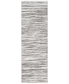 """Surya Contempo CPO-3844 Light Gray 2'7"""" x 7'10"""" Runner Area Rug"""