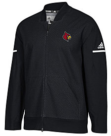 adidas Men's Louisville Cardinals Squad Bomber Jacket