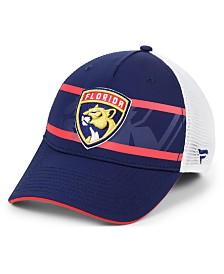 Authentic NHL Headwear Florida Panthers 2nd Season Trucker Adjustable Snapback Cap