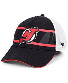 Authentic NHL Headwear New Jersey Devils 2nd Season Trucker Adjustable Snapback Cap