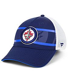 Authentic NHL Headwear Winnipeg Jets 2nd Season Trucker Adjustable Snapback Cap