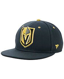 Authentic NHL Headwear Vegas Golden Knights Basic Fan Snapback Cap