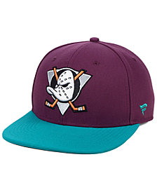 Authentic NHL Headwear Anaheim Ducks Mighty Ducks Collection Snapback Cap