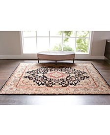 Rugs, Wool & Silk 2000 2028 Black Collection