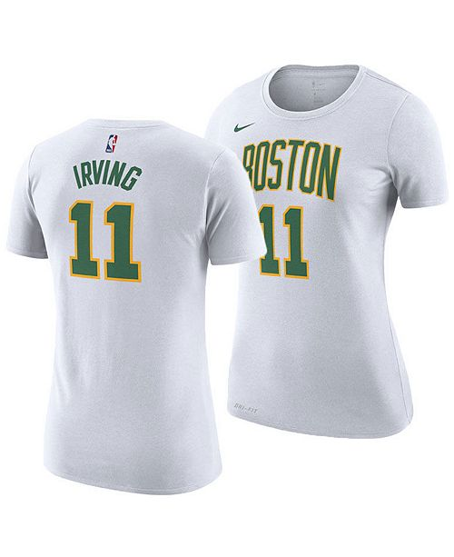 ... Nike Women s Kyrie Irving Boston Celtics City Edition Player T-Shirt ... 894ba52d69