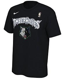 Men's Minnesota Timberwolves Hardwood Classics Logo T-Shirt