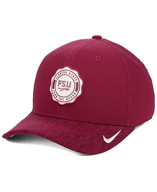 best service 4dff6 56df3 ... Nike Florida State Seminoles Rivalry Swooshflex Stretch Fitted Cap ...