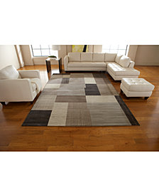 Couristan Rugs, Taylor Geometrics Brown