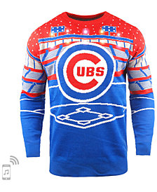 Forever Collectibles Men's Chicago Cubs Bluetooth Ugly Sweater