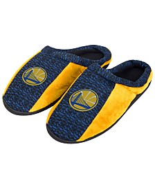 Forever Collectibles Golden State Warriors Knit Cup Sole Slippers