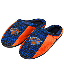 Forever Collectibles New York Knicks Knit Cup Sole Slippers