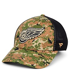 Authentic NHL Headwear Detroit Red Wings Military Appreciation Speed Flex Stretch Fitted Cap