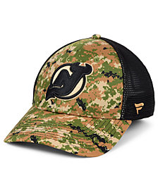 Authentic NHL Headwear New Jersey Devils Military Appreciation Speed Flex Stretch Fitted Cap