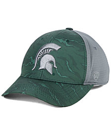Top of the World Michigan State Spartans Tiger Camo Flex Stretch Fitted Cap