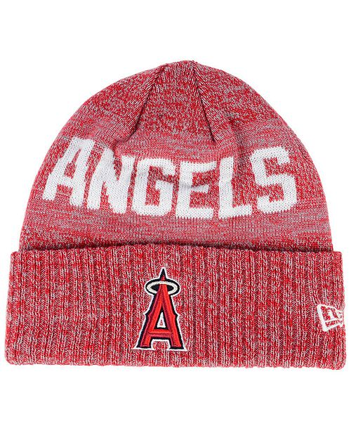 7f8d69a8c8fb9 coupon new era. los angeles angels crisp color cuff knit hat. be the first