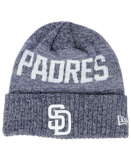 online store a66bb 66600 ... New Era San Diego Padres Crisp Color Cuff Knit Hat ...