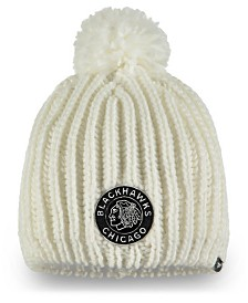 Authentic NHL Headwear Women's Chicago Blackhawks Winter Classic Knit Hat