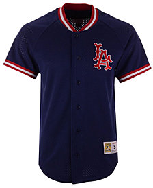 Mitchell & Ness Men's Los Angeles Angels Pro Mesh Jersey