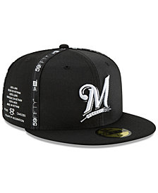 New Era Milwaukee Brewers Inside Out 59FIFTY-FITTED Cap