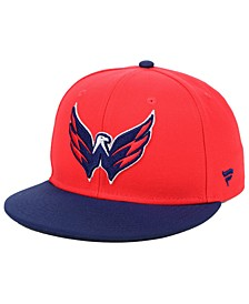 Washington Capitals Basic Fan Fitted Cap