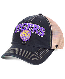 '47 Brand LSU Tigers Tuscaloosa Mesh CLEAN UP Snapback Cap