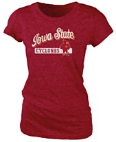 new product 3af40 26786 Retro Brand Women s Iowa State Cyclones Tri-Blend T-Shirt