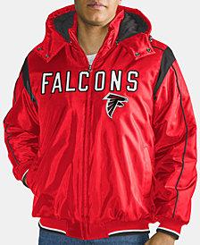 G-III Sports Men's Atlanta Falcons Hot Read Player Front Zip Jacket