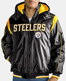 G-III Sports Men's Pittsburgh Steelers Hot Read Player Front Zip Jacket
