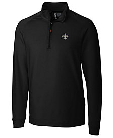 Cutter & Buck Men's New Orleans Saints Jackson Half-Zip Pullover