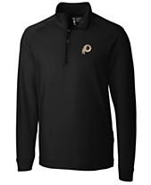 Cutter   Buck Men s Washington Redskins Jackson Half-Zip Pullover 0c5222609