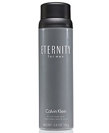 ETERNITY for men Body Spray, 5.4 oz