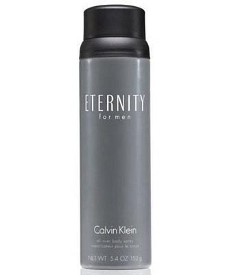 Eternity For Men Body Spray, 5.4 Oz by Calvin Klein
