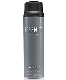 Calvin Klein ETERNITY for men Body Spray, 5.4 oz