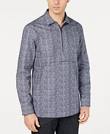 Alfani Men's Zip-Front Shirt, Created for Macy's