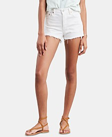 Levi's® 501® Cotton High-Rise Denim Shorts