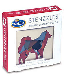 Stenzzles Artistic Layering Puzzle - Dogs Collection
