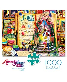 Aimee Stewart Collection - Life is an Open Book - Paris- 1000 Pcs Puzzle