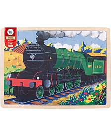 Wooden Flying Scotsman Tray Puzzle- 35 Pcs