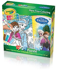 Crayola Color Wonder Puzzle - Disney Frozen- 60 Piece