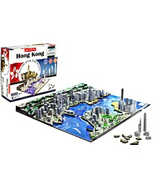 4D Cityscape Time Puzzle - Hong Kong, China