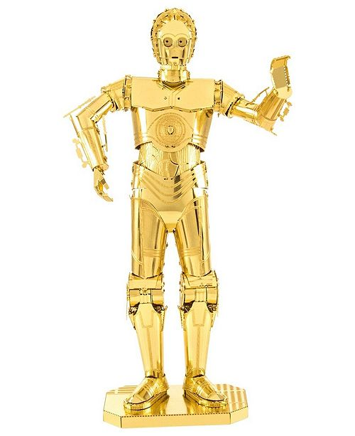 Fascinations Metal Earth 3D Metal Model Kit - Star Wars Episode 7 C-3PO
